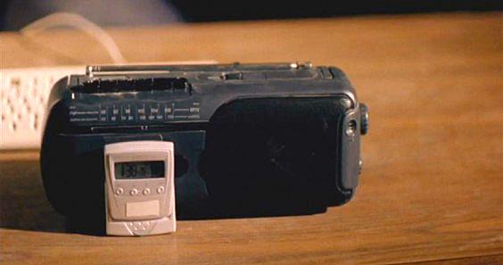 Radio clock.