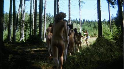 Das liebestolle Internat Wald 1