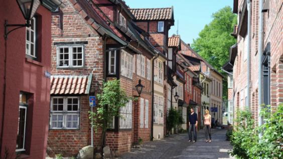 Lüneburg, pulsierende Metropole.